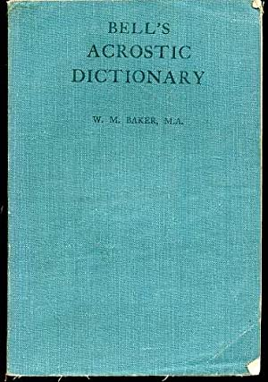 Bell's Acrostic Dictionary