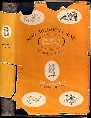 King Solomon's Ring : New Light on: Lorenz, Konrad Z.