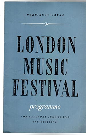 The London Music Festival (PROGRAMME)