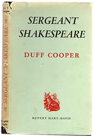 Sergeant Shakespeare (SIGNED COPY)