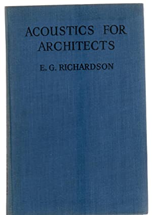 Acoustics for Architects