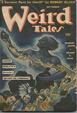WEIRD TALES. SEPTEMBER 1941.