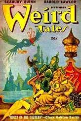 WEIRD TALES. SEPTEMBER 1947.