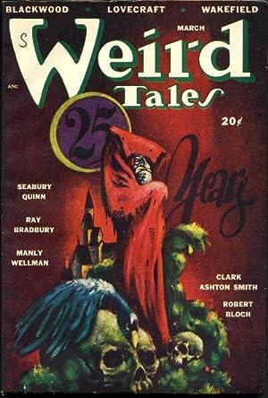 WEIRD TALES. MARCH 1948.