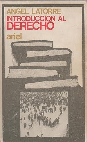 Introducción al Derecho: Latorre, Angel