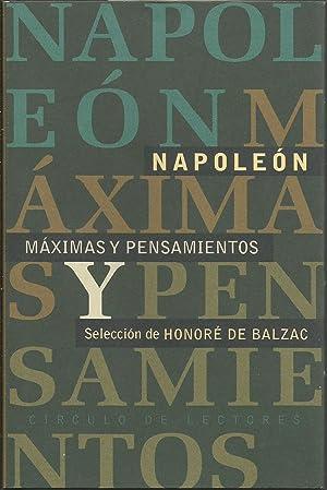 Máximas y pensamientos: Napoleón