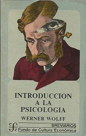 Introducción a la Psicologia: Wolff, Werner
