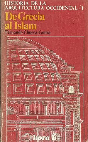 Historia de la Arquitectura Occidental/1. De Grecia: Fernando Chueca Goitia