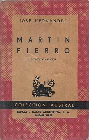 Martín Fierro: José Hernández