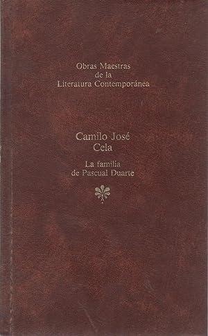 La familia de Pascual Duarte: Camilo José Cela