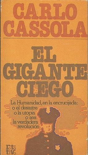 El gigante ciego: Carlo Cassola