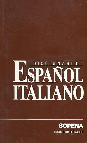 Lexicón Diccionario Sopena italiano español y español: José Ruiz de