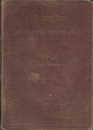 Manual de Historia de España Tomo II.: Pedro Aguado Bleye