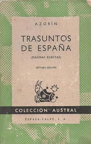 Trasuntos De España (Páginas electas): Azorín