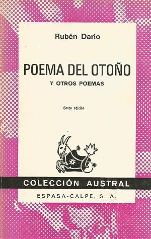 Poema del otoño y otros poemas: Rubén Darío