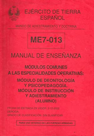 Manual de enseñanza - Módulos comunes a: Anónimo