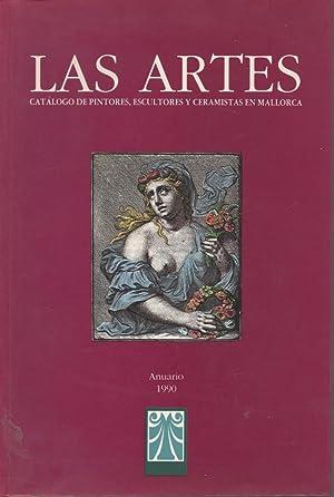 Las Artes. Catálogo De Pintores, Escultores y Ceramistas En Mallorca