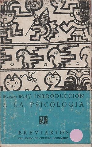 Introducción a la psicología: Werner Wolff