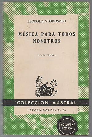 Música para todos nosotros: Leopold Stokowski