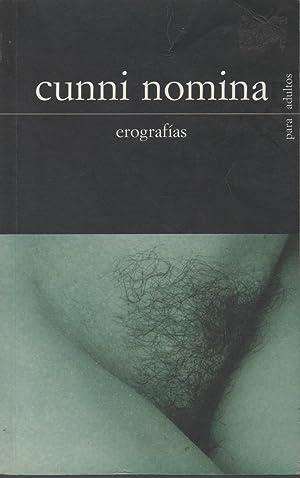 Cunni Nomina : Erografías: Anónimo