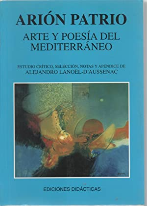 Arte y poesía del Mediterráneo: Arión Patrio (Catalina Gaya Riera)