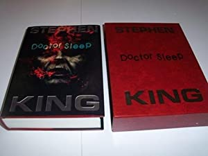 Doctor Sleep - signed and remarqued slipcased ltd 1st edn: Stephen King