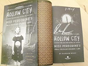 Hollow City (Miss Peregrine sequel) signed and: Ransom Riggs