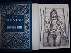 The Shining signed & remarqued US HB: Stephen King