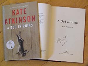 A God In Ruins - signed and: Kate Atkinson