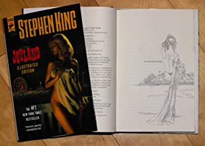 Joyland (illustrated edition) artist-signed remarqued 1st edition: Stephen King