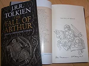 The Fall of Arthur - signed, dated,: JRR Tolkien