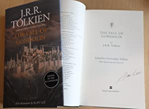 The Fall of Gondolin - Signed UK: JRR Tolkien