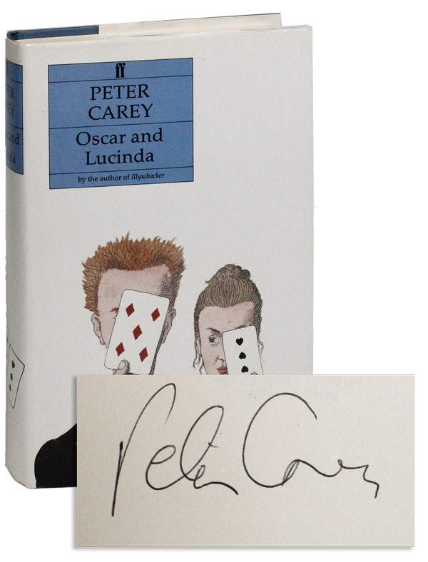 Oscar And Lucinda Signed By Carey Peter Faber And border=