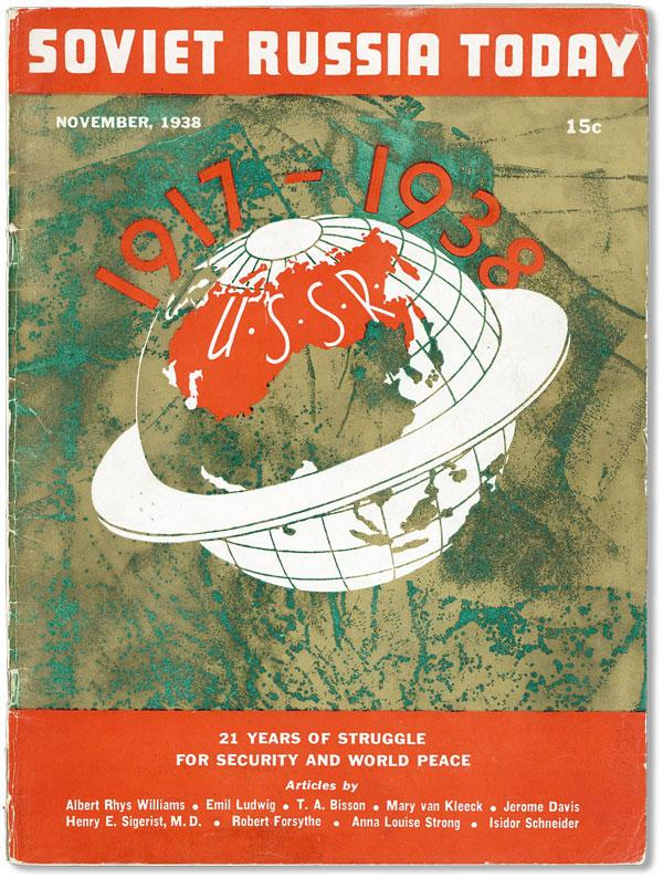 Soviet Russia Today - Vol 7, no 8 (November