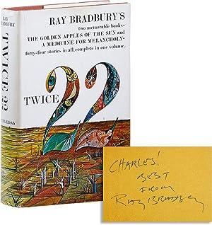 Twice Twenty-Two: The Golden Apples of the: BRADBURY, Ray (stories);