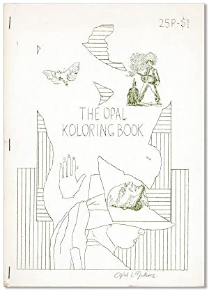 The Opal Koloring Book of Hand-Engraved Wax Stencils no. 62