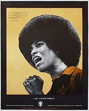 Original Poster: I Am A Black Woman: MCCRARY, Richard (poem & design)