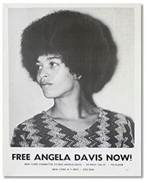 Original Poster: Free Angela Davis Now!: DAVIS, Angela]