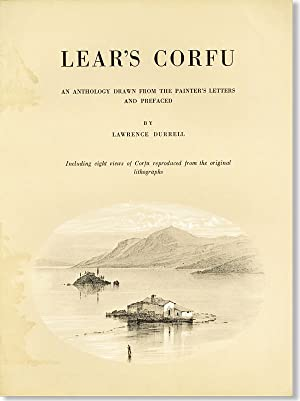 Lear's Corfu: An Anthology Drawn from the: LEAR, [Edward]