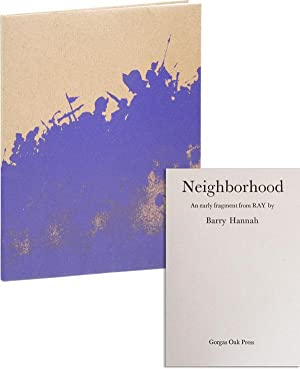 Neighborhood: An Early Fragment from Ray [Limited Edition]