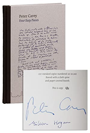 Four Easy Pieces [Limited Edition, Signed]: CAREY, Peter (essays);