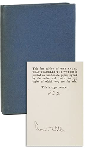 The Angel that Troubled the Waters and Other Plays [Limited Edition, Signed]