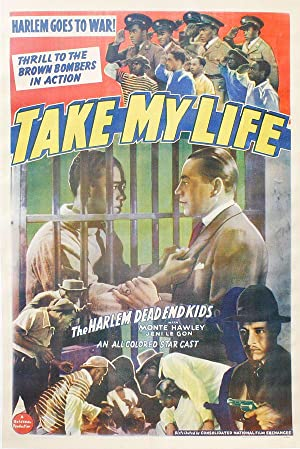 Take My Life - Original One-Sheet Poster: POPKIN, Leo C.