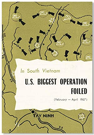 In South Vietnam: U.S. Biggest Operation Foiled (February-April, 1967)