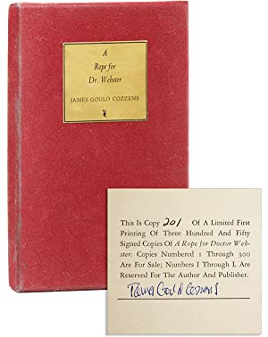 A Rope for Dr. Webster [Limited Edition, Signed]