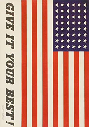 """Poster: """"Give It Your Best!"""": COINER, Charles (artist)"""
