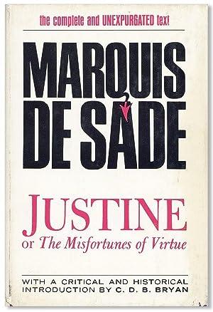 Justine; or, The Misfortunes of Virtue: SADE, Marquis de;