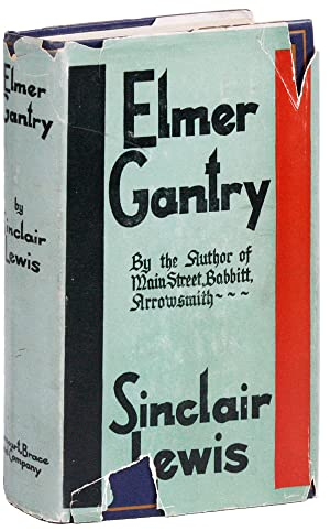 3594e05de0db8 sinclair lewis - elmer gantry - First Edition - Free US Shipping ...