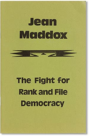 Jean Maddox. The Fight for Rank and: Union WAGE Educational
