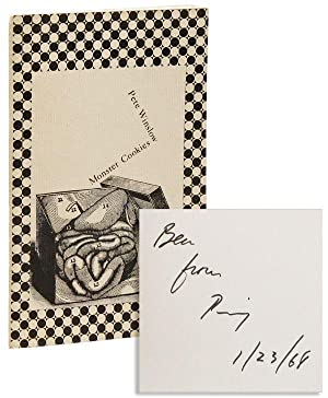 Monster Cookies: Poems, 1962-66 [Inscribed & Signed to Ben Shahn]